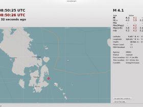 Gempa 4,1 SR Guncang Wilayah Buranga Butur