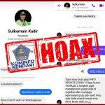 Akun Facebook Milik Wali Kota Kendari Dipalsukan