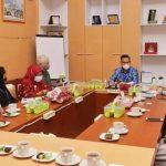 Kunker di Kendari, Ketua PAEI dan CDC Sambangi Wali Kota