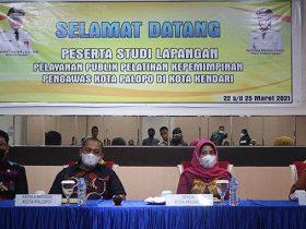 Peserta Diklat Kota Palopo Studi Banding Pelayanan Publik di Kendari