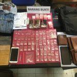Dua pria di Kendari diringkus polisi miliki sabu 40 gram Foto: Istimewa