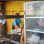 Empat Kios Terbakar di Pasar Andonouhu, Kerugian Ditaksir Rp56 Juta