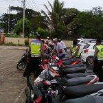 Polisi Bubarkan Balap Liar di Kendari, Belasan Motor Diamankan