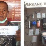 Polisi Meringkus Pengedar Sabu di Sebuah Rumah di Jalan Mekar Kendari