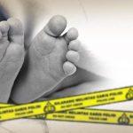 Ilustrasi mayat bayi meninggal