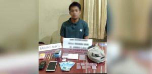 Sembunyikan Sabu di Tisu, Polisi Amankan Pria Warga Kelurahan Kasilampe Kendari