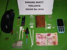 Miliki Sabu, Seorang Pedagang di Raha Ditangkap Polisi
