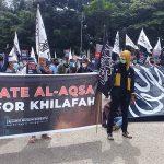 Aliansi Muslim Bersatu Kendari Turun Jalan, Serukan Bela Palestina