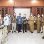 Terima Kunjungan Kerja Baleg DPR-RI, Ali Mazi Sampaikan Pembangunan Sultra