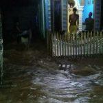 Kali Meluap, Banjir Genangi Sejumlah Rumah di Desa Puusawa Jaya Konawe