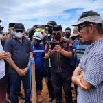 DPRD Sultra Kunjungi Makam Leluhur Suku Tolaki yang Diduga Dirusak PT Riota Jaya Lestari Kolut