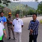 Anton Timbang Pantau Latihan 2 Pembalap Muda Perwakilan Sultra Pada PON XX Papua