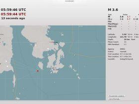 Gempa Tektonik 3,6 SR Guncang Bombana