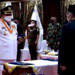 Acara Pelantikan Bupati dan Wakil Bupati Kabupaten Muna di Rujab Gubernur