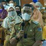 Hari Pertama PTM, Wali Kota Kendari Dialog dengan Kasek