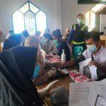 Polres Konawe Gelar Vaksinasi Covid 19 di Ponpes Al Ikhlas Amberi