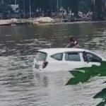 Mobil Tenggelam di Sungai Konaweha, 5 Orang Selamat dan 3 Orang Hilang