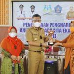 Raih Penghargaan APE, Wali Kota Kendari Pesan Jangan Cepat Merasa Puas
