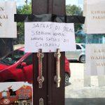 Honor Belum Dibayar 6 Bulan, Posko Satgas Covid-19 Sultra Disegel