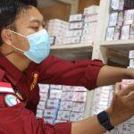 Kantor Bea Cukai Kendari dan KKP Sita Ribuan Rokok dan Minuman Ilegal